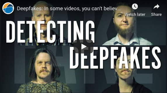 Norfolk: Deepfakes: In some videos, you can't believe your eyes